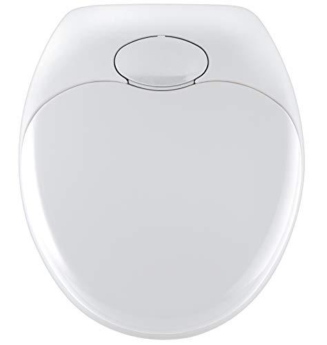 Wenko 110003100 Abattant WC Famille Descente Progressive Blanc