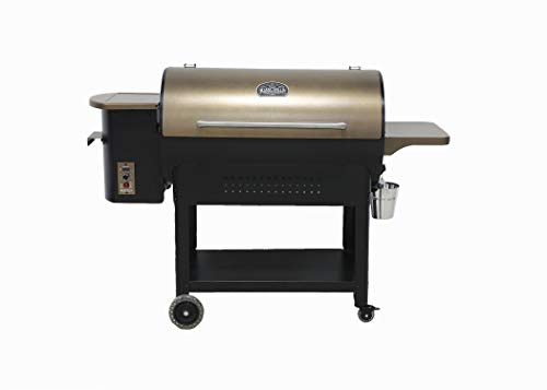 Ozark Grills - the Bison Wood Pellet Grill and Smoker with 2...
