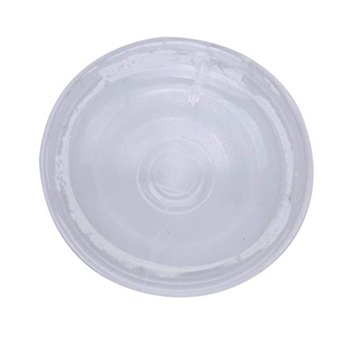 Rinclhu - 100 unidades de goma para escritorio de hogar, cristal transparente, anticolisión, ventosas para colgar sin ganchos para decoración del hogar