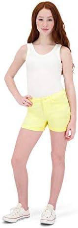 VIGOSS Girls Shorts Adjustable Waist Stylish Summer Cotton Spandex Short for Girls Kids Teens product image