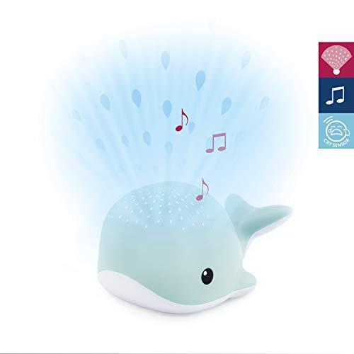 Lichtprojektor Wally der Wal in Blau