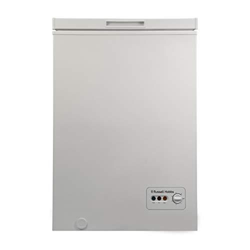 Russell Hobbs RHCF103 Freestanding Chest Freezer 99L, White