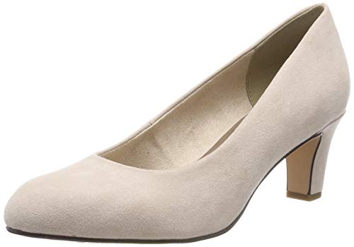 Tamaris Damen 1-1-22418-22 251 Pumps Beige (NUDE 251), 42 EU