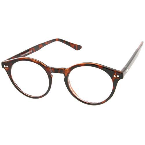 KISS Neutrale Brille stil MOSCOT mod. WAVE Johnny Depp - optischer rahmen Licht RETRO mann frau unisex - HAVANNA
