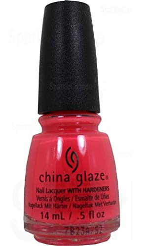 China Glaze Nail Lack mit hardeners, 14 ml, ABBS0012 Bad Set der Stimmung