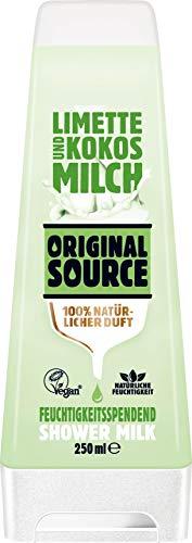 Original Source : Cremedusche Limette & Kokosmilch - Vegan