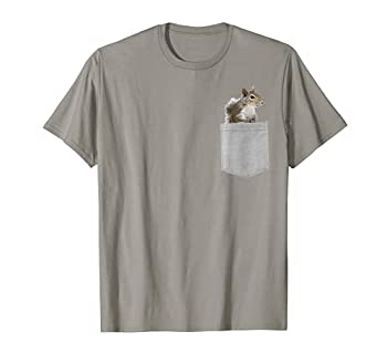 Animal in Your Pocket American gray squirrel T-Shirt