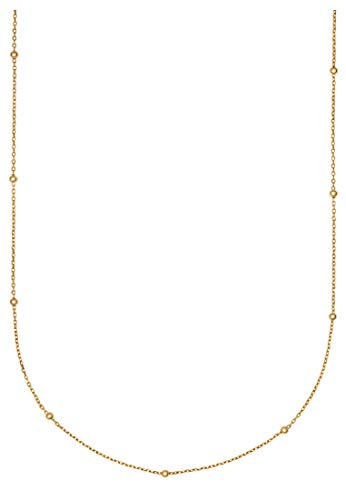 CHRIST Damen-Kette 375er Gelbgold One Size 87716473