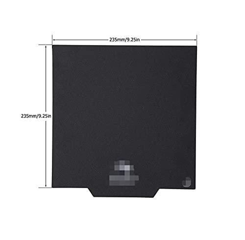 PUGONGYING Popular Upgrade Cmagnet Plates Magnetic 3D Printer Build Surface Heated Bed Cover Fit For Ender-3(Pro Ender 3 V2 Ender-5 CR20 Parts durable (Color : 235x235mm)
