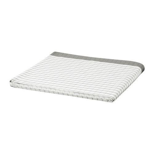 IKEA 365+ - Tischdecke, weiß, grau