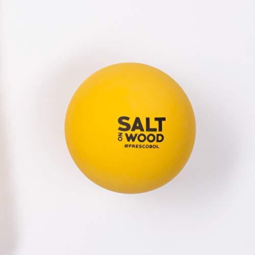 Salt on Wood Ball für Frescobol aus Gummi   Passend zum Beachball-Set Perfekt für das Strand-Match (4 Bälle)