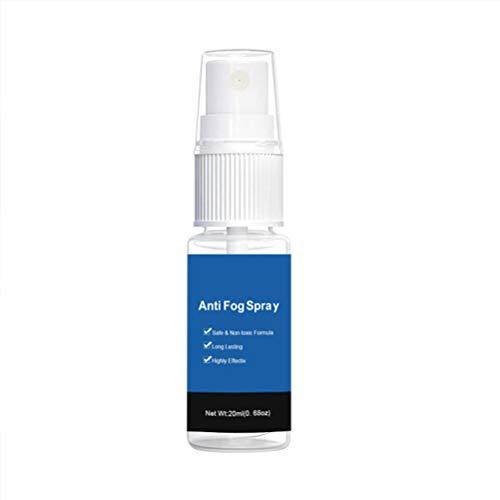 Anticondens-glasspray - Autoruiten-bril Antimist-spray Niet-giftig Handige achteruitkijkspiegel Anticondensmiddel - 20 ml
