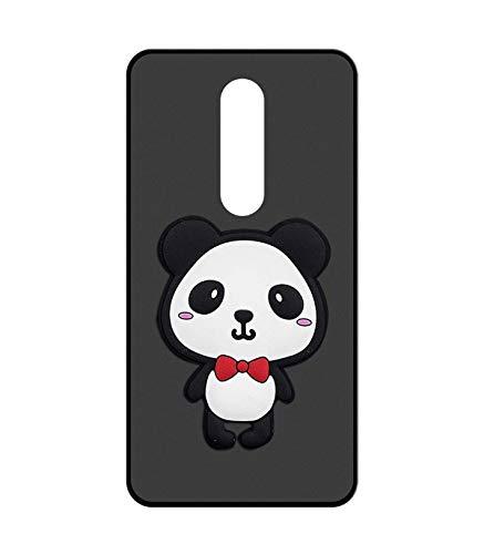 Sunrive Für Leagoo S8 Hülle Silikon, Handyhülle matt Schutzhülle Etui 3D Hülle Backcover für Leagoo S8(W2 Panda 1) MEHRWEG+Gratis Universal Eingabestift
