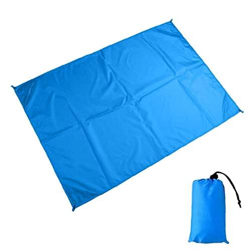 Manta de Playa Plegable a Prueba de Arena Impermeable, colchón para Acampar,...