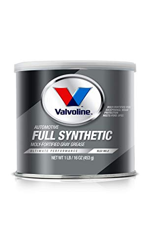 Valvoline Moly-Fortified Gray Full Synthetic Grease 1 LB