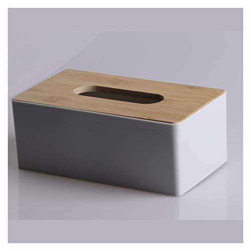 ShawnBlue Titular de Tejido Caja de Tejido de Madera Caja de Tejido para el hogar Cuadro de Almacenamiento de Muebles Caja de Almacenamiento (Color : Grey)
