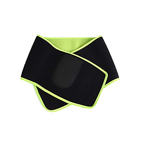 COLNER Waist Trimmer Belt, Exercise Wraps for Weight Loss Mens Women Fitness Workout Sweat Sauna Belts Lumbar Back Support Belt Best Abdominal Trainers with Pocket for Cell Phone