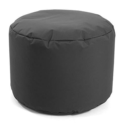 mokebo® Outdoor Pouf 'Der Ruhepouf', Leichter Hocker, Sitzpouf & Beistelltisch, Made in Schwarzwald