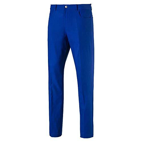 PUMA Pantalón Jackpot de 5 Bolsillos para Hombre 2019, Hombre, Pantalones, 577975, navega...