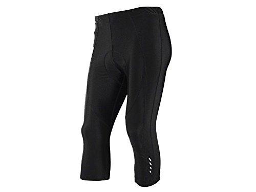 Crivit Sports heren fietsbroek loopbroek wielersport broek zwart maat: XL