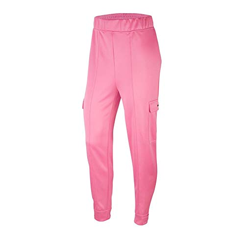 Nike Pantalon Jogging Rose Femme Sportwear Swoosh