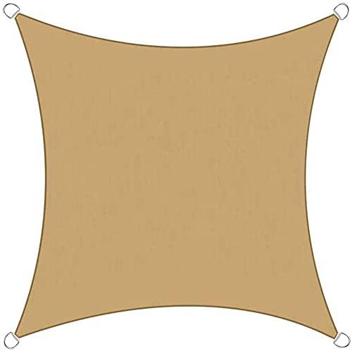 Parasol de tela para patio, toldo rectangular, impermeable, 95% de protección solar para exteriores, patio, patio, césped, pérgola (tamaño ajustable). Tamaño: 2,5 x 4,5 m