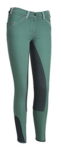Pikeur Jeans Damenreithose Captiva Größe 38, Farbe red
