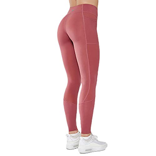 Womens Yoga Pants With Pockets,High Waisted Yoga Leggings With Pockets Tummy Control Non See-through Yoga Pant