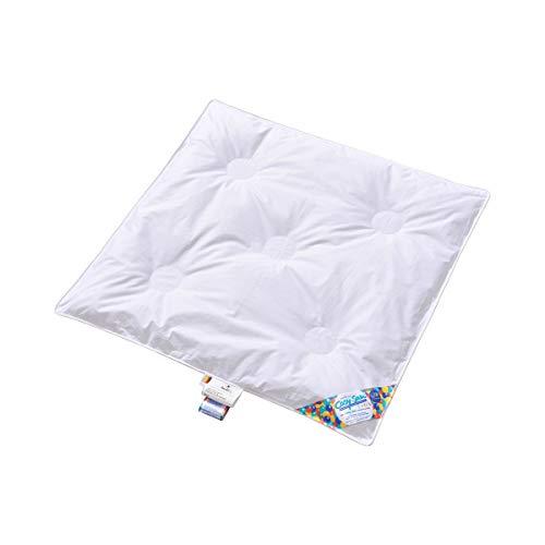 Aro Artländer Couette pour enfant 80 x 80 cm CosySan® Clima TOG équipement de lit couverture, blanc