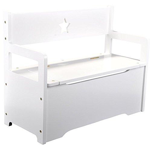 Kindersitzbank Weiß