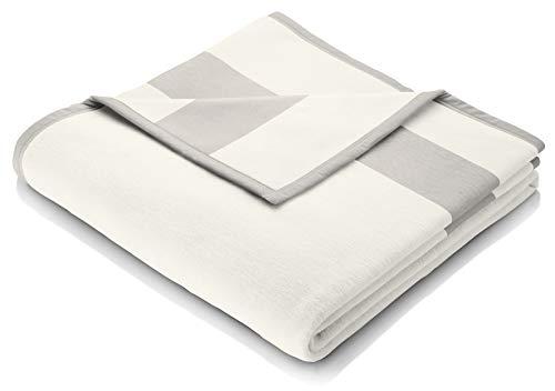 biederlack Sofa 50x200 cm I Sesselschoner Sand I Sofaschoner in beige I 60% Baumwolle, 40% dralon I Made in Germany