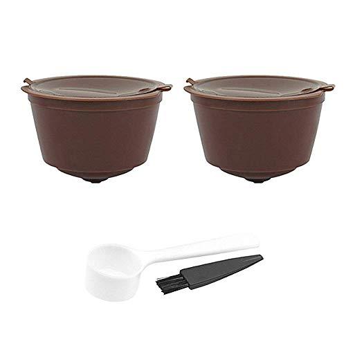 Molinter Capsules de café pour machine à café Dolce réutilisable