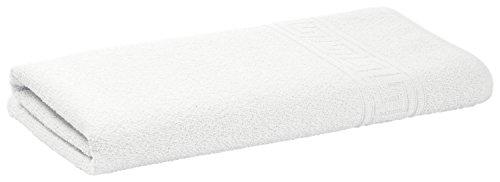 Hotelwäsche Erwin Müller Handtuch Athen, 2 Stück, 50x100cm, weiß, Baumwolle