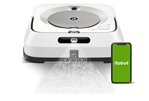 ブラーバジェットm6 アイロボット 床拭きロボット マッピング 水拭き Wi-Fi対応 遠隔操作 静音 複数の部屋...