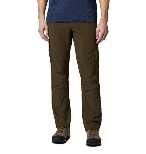 Columbia Silver Ridge II Pantalon de Randonnée Cargo Homme, Olive Green, W34/L32