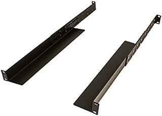 "NavePoint Universal 1U Rack Mount 4-Post Shelf Rail Dell Compaq IBM HP APC - 33.5"" deep"