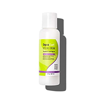 DevaCurl Styling Cream, Touchable Hold and Frizz Free Curl Definer, Style and Shape
