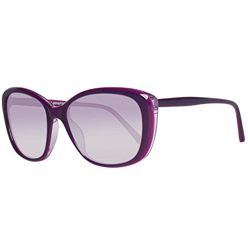 United Colors of Benetton Damen BE955S03 Sonnenbrille, Violett (Violet), 55
