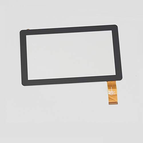 Display a Schermo Piatto 7'Pollice/Adatta for IRULU EXPRO X1 / Adatta for IRULU X7 Tablet Touch Screen Pannello Digitizer Digitizer Sostituzione del sensore di Vetro (Color : Black)