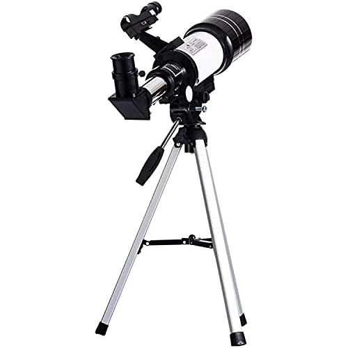 CHENXU Telescopio Astronómico para Adultos Telescopio astronómico Adulto para niños Telescopio de Viaje Soporte de telescopio Totalmente Cubierto de múltiples Capas Telescopio portátil del trípode