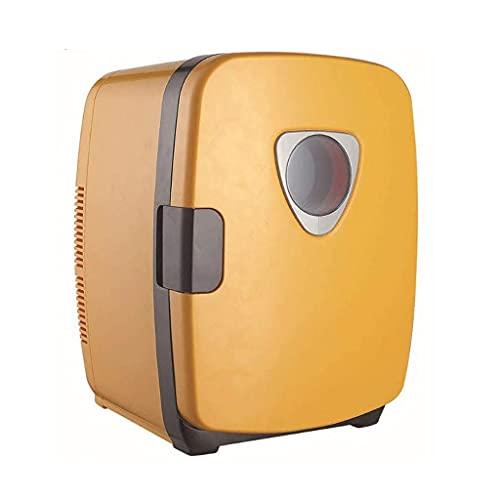 NXYJD Mini refrigerador y Calentador termoeléctrico for refrigerador, for hogar, Oficina, automóvil, Dormitorio o Bote - Compacto y portátil - Cables de alimentación de CA y CC