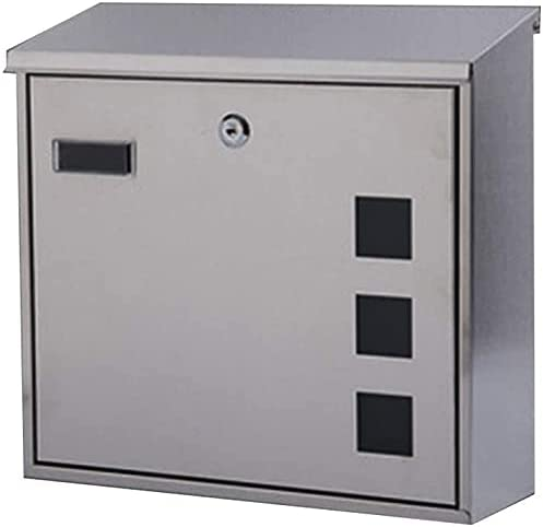 specialty shop YIQQWS MailboxesSecure Lock Mailbox Modern Wall Lockable Mount M At the price