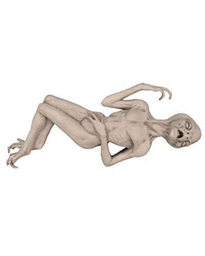 Horror-Shop Lebensgroße Alien Dekofigur Deluxe