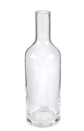 Flasche Botega Glas klar H30cm,d 9 cm