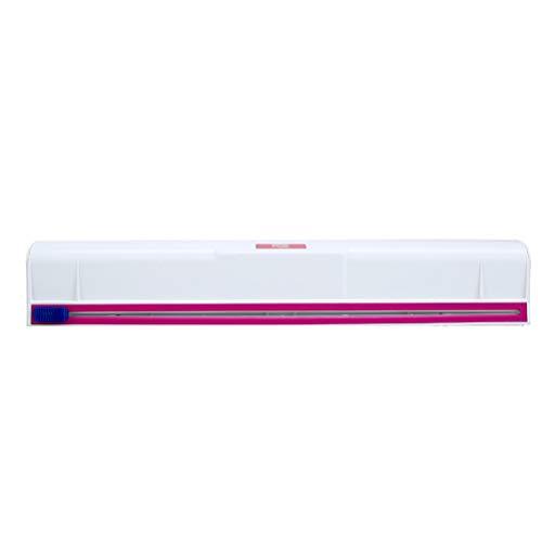 BESTonZON Folienschneider Kunststoff Folienspender Folienhalter Küch Hilfsmittel (Weiß)
