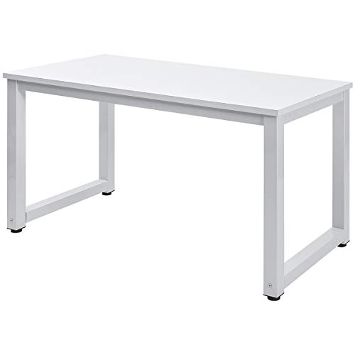 Mesa de escritorio para estudiante, mesa de estudio, escritorio, mesa de ordenador portátil, para espacios pequeños, oficina y oficina o trabajo (roble