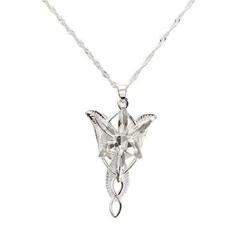 Cikuso El Senor de los Anillos-Arwen - Colgante Estrella de la Tarde
