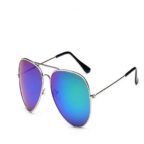 nobrand Reflektierende Farbfilm-Sonnenbrille