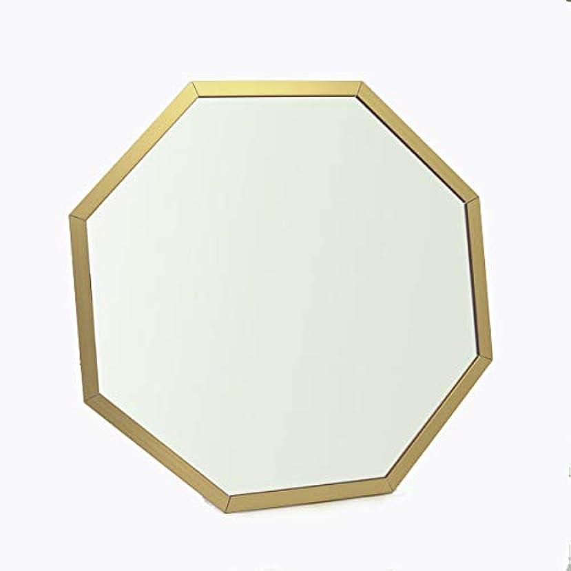 消化マーキー土器パラデック Octam 八角形 スタンド&ウォールミラー M ゴールド OCM-28