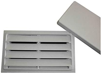 Manual Crawl Space Vent With Removable Cover And Vermin Screen White 8 Height X 16 Width Amazon Com